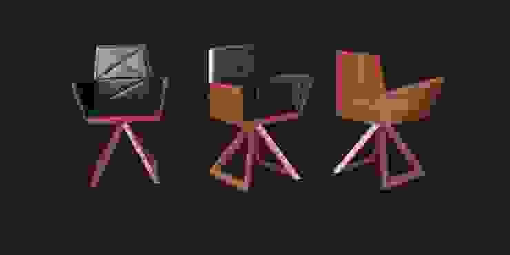 Fotel SIT od Delicious Concept Nowoczesny