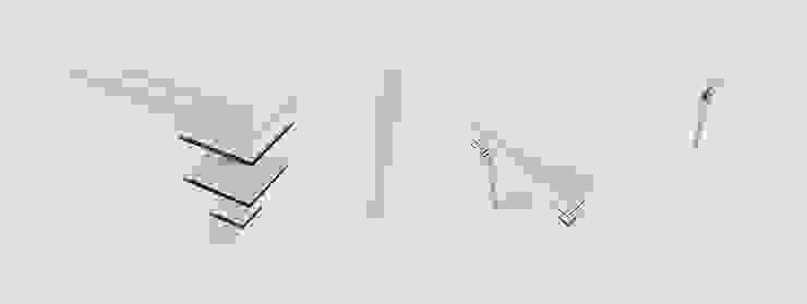 Stół REC od Delicious Concept Nowoczesny