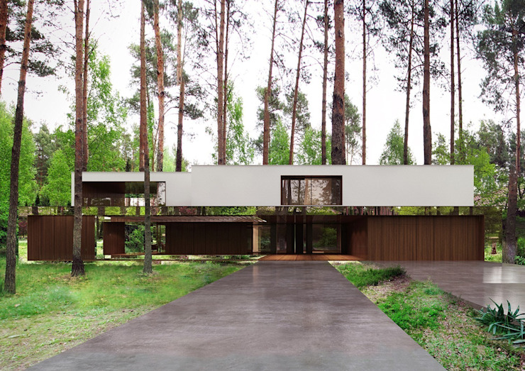 Дома в . Автор – REFORM Architekt Marcin Tomaszewski,