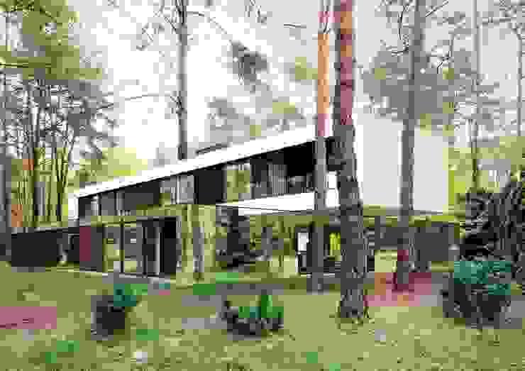 Lustrzany dom: styl , w kategorii Domy zaprojektowany przez REFORM Architekt Marcin Tomaszewski,