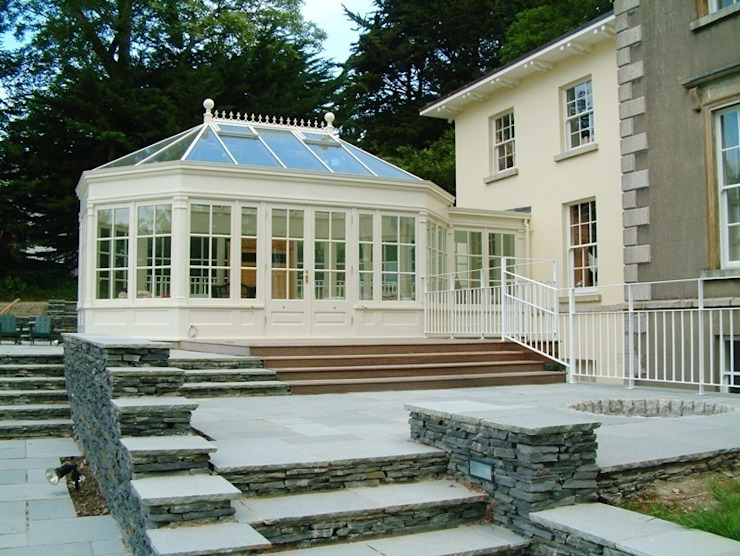 Hardwood Conservatories Classic style conservatory by Hampton Windows Classic