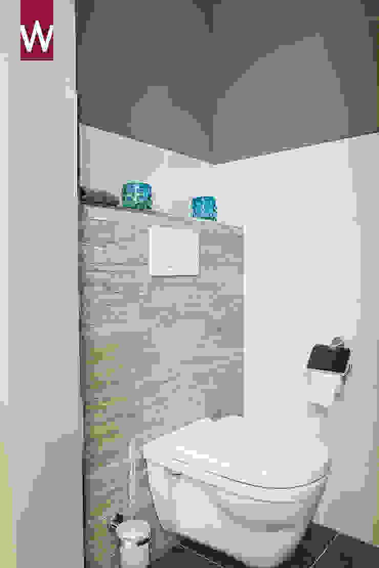 Toilet in een rustieke sfeer Rustieke badkamers van Van Wanrooij keuken, badkamer & tegel warenhuys Rustiek & Brocante