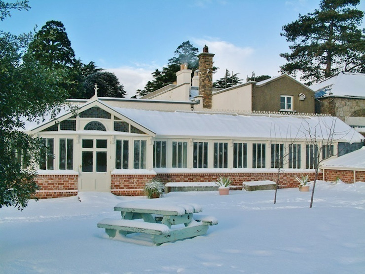 Hardwood Conservatory Hampton Windows Classic style conservatory