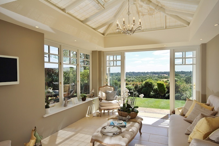 Hardwood Orangery Anexos de estilo clásico de Hampton Windows Clásico