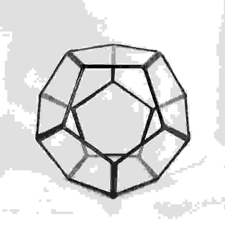 Terrario Dodecaedro:  de estilo industrial de ZetaGlass, Industrial Vidrio
