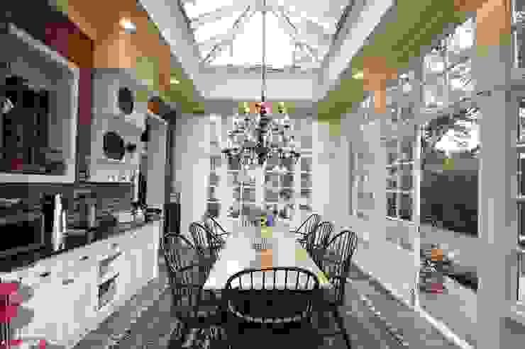 Hardwood Orangery 根據 Hampton Windows 古典風