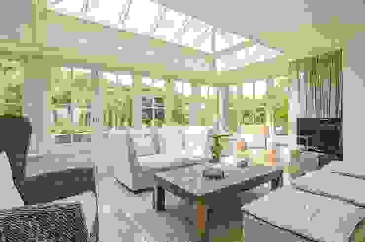 Hardwood Orangery Classic style conservatory by Hampton Windows Classic