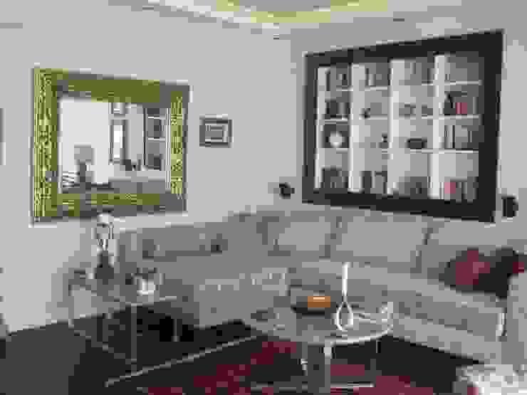 Salon Akdeniz Oturma Odası İdea Mimarlık Akdeniz