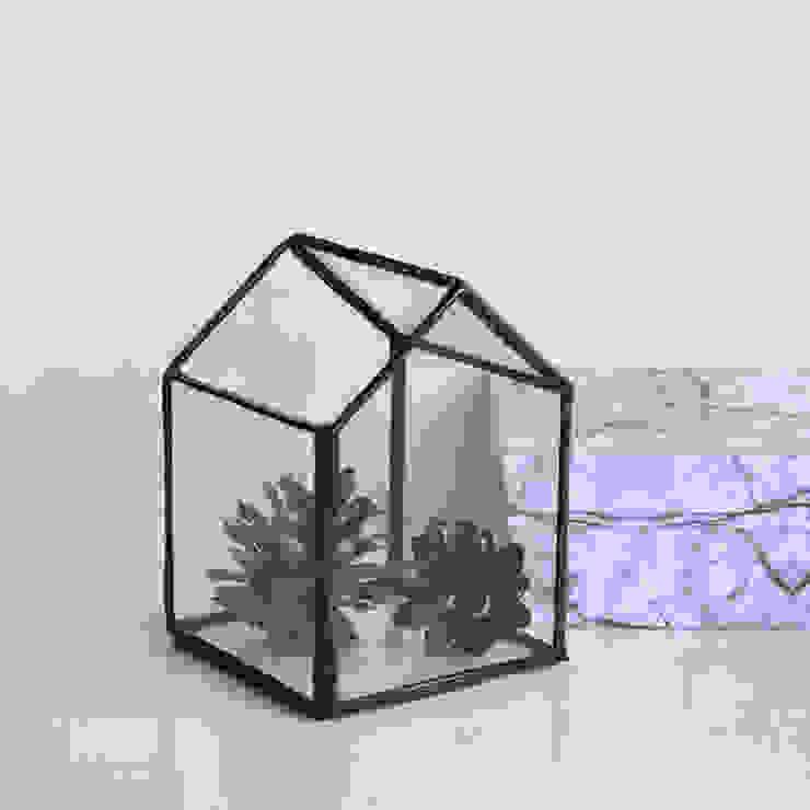 Casita de cristal de ZetaGlass Moderno Vidrio