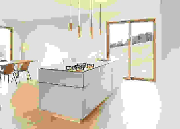 LASSEHAUS Moderne Küchen von Spandri Wiedemann Architekten Modern Kupfer/Bronze/Messing