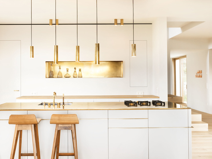 Kitchen by Spandri Wiedemann Architekten, Modern Copper/Bronze/Brass