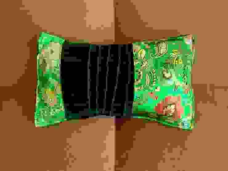Kissenhülle MärzBlatt, Samt, Brokat, grün von KunstKaufRauschArtig Asiatisch