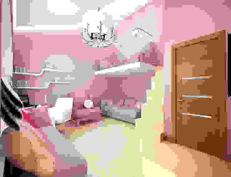 Минимализм в доме Детские комната в эклектичном стиле от Дизайн студия 'Чехова и Компания' Эклектичный