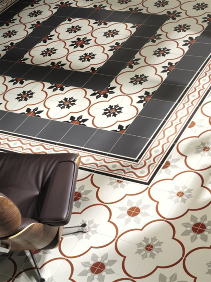New Origins Nantes Aran Paredes y suelos de estilo rústico de INTERAZULEJO Rústico