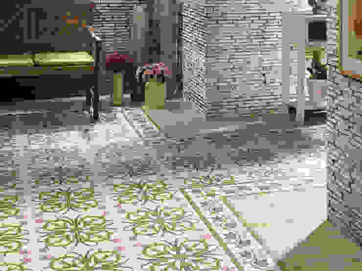 New Origins Azahar Paredes y suelos de estilo rústico de INTERAZULEJO Rústico