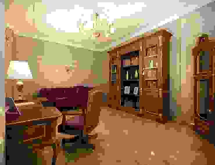 Классика в городе Рабочий кабинет в классическом стиле от Дизайн студия 'Чехова и Компания' Классический