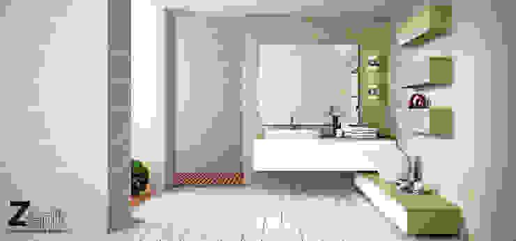 Mobiliario baño Zenit Baños de estilo minimalista de ALVIC Minimalista