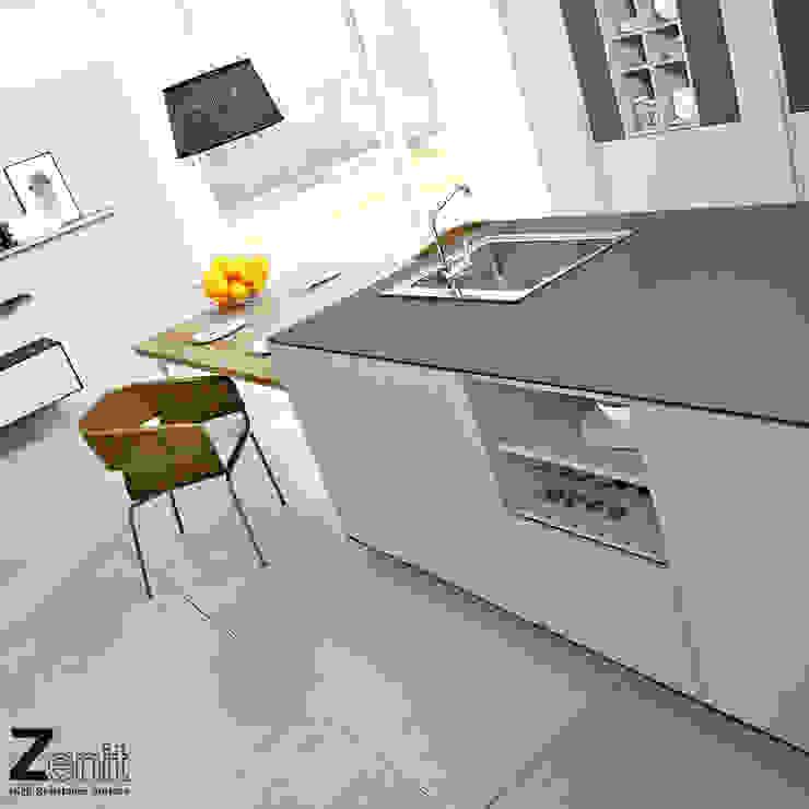 Mobiliario cocina Zenit Cocinas de estilo minimalista de ALVIC Minimalista