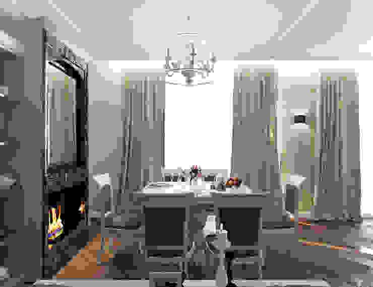 Квартира с элементами прованса Гостиная в классическом стиле от Дизайн студия 'Чехова и Компания' Классический