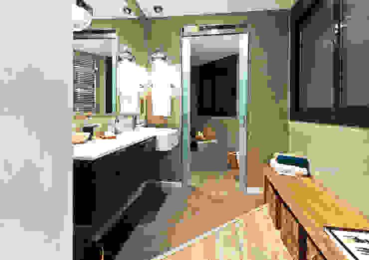 Apartamento turístico RBLA. CATALUNYA - Una espacio para disfrutar Baños de estilo moderno de homify Moderno