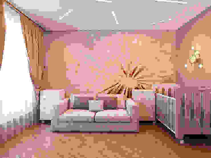 Квартира в стиле фьюжн Детские комната в эклектичном стиле от Дизайн студия 'Чехова и Компания' Эклектичный