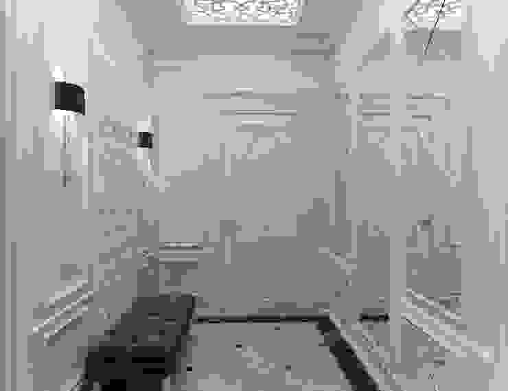Квартира с элементами прованса Коридор, прихожая и лестница в классическом стиле от Дизайн студия 'Чехова и Компания' Классический