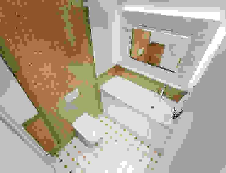 Квартира с элементами прованса Ванная в классическом стиле от Дизайн студия 'Чехова и Компания' Классический