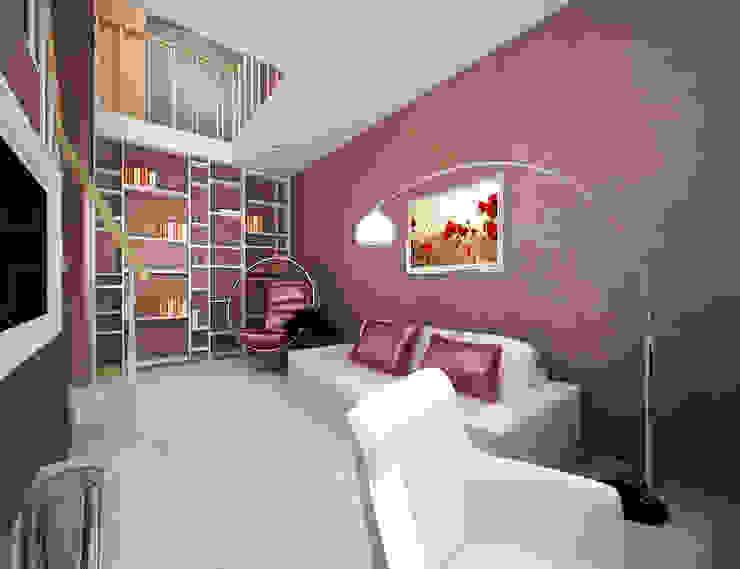 Белое белым Детские комната в эклектичном стиле от Дизайн студия 'Чехова и Компания' Эклектичный