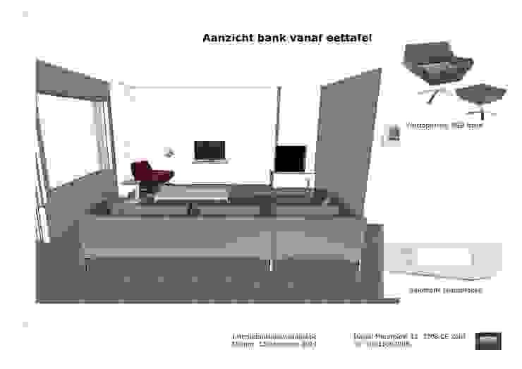 Visualisatie en interieur-voorstel woning Bunnik van Mood Interieur