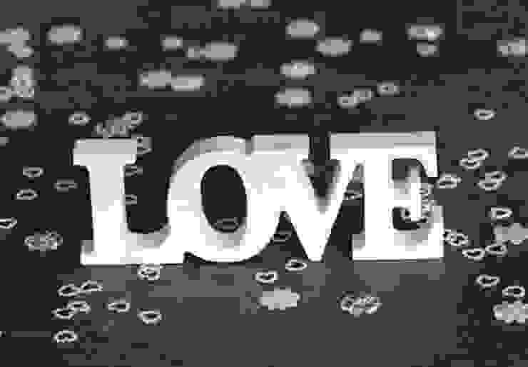 Lettres décoratives - 3D LOVE 2 par wall-art.fr Classique