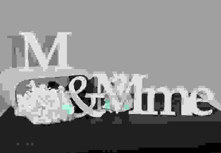 Lettres décoratives - 3D M&Mme par wall-art.fr Classique
