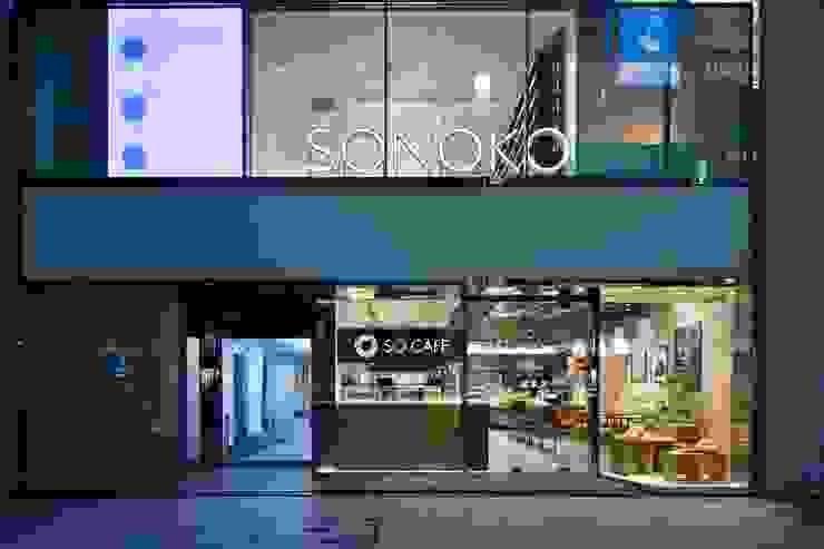 SONOKO 銀座店 の 窪田建築都市研究所 有限会社