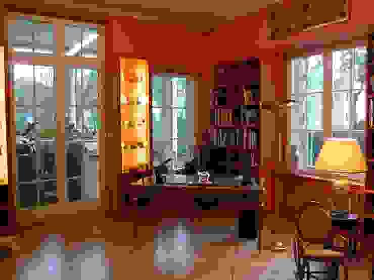Bibliothek nach Umbau von Atelier von Wecus
