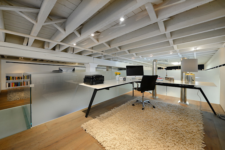 Modern Study Room and Home Office by homify Modern