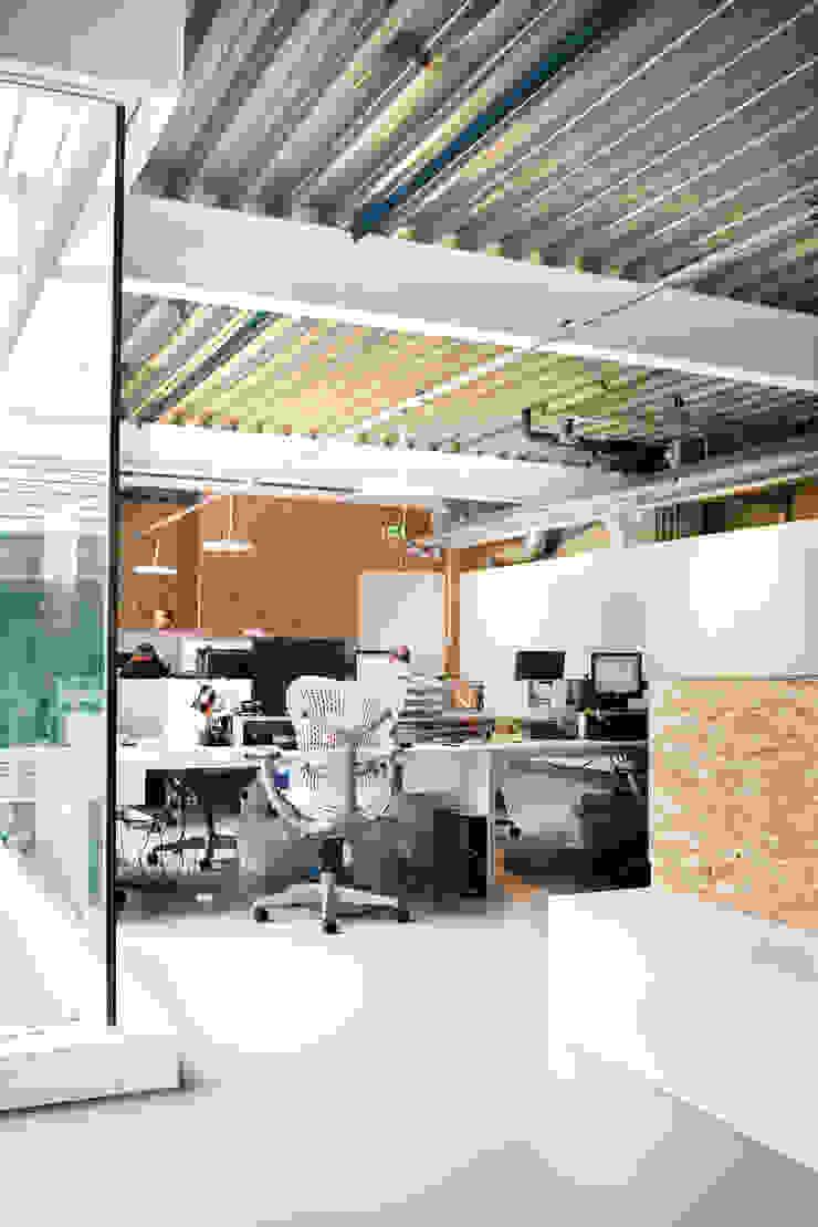 Filmproductie kantoor Lemming Film, Amsterdam Moderne kantoor- & winkelruimten van Binnenvorm Modern