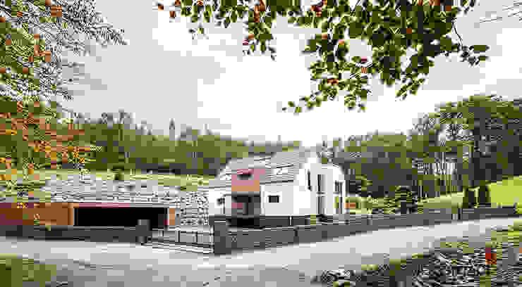 現代房屋設計點子、靈感 & 圖片 根據 ONE!CONTACT - Planungsbüro GmbH 現代風
