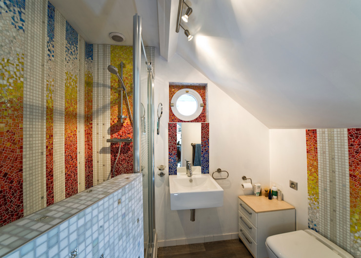 Bathroom by Art Mosaico
