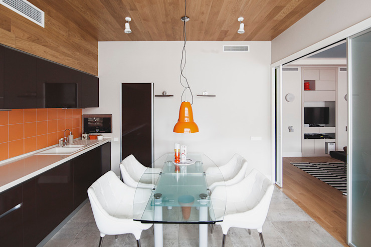 кухня от Ирина Крашенинникова: интерьерный дизайн и декорирование