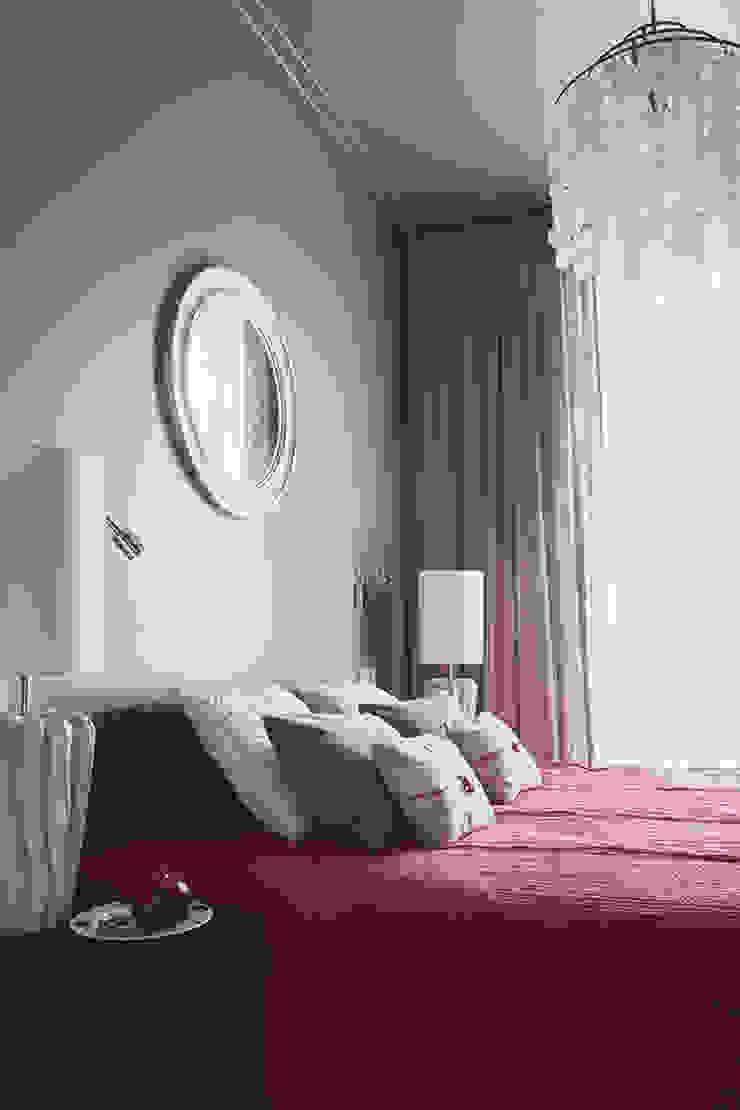 спальня от Ирина Крашенинникова: интерьерный дизайн и декорирование