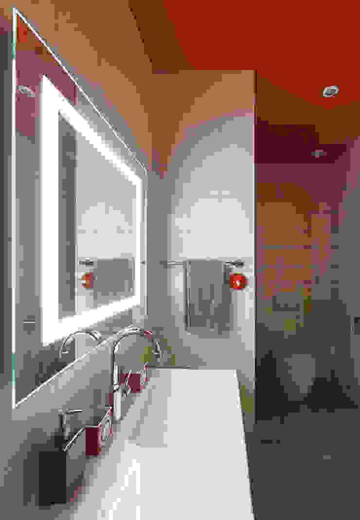 гостевой санузел от Ирина Крашенинникова: интерьерный дизайн и декорирование