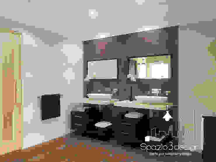 浴室 by Spazio3Design