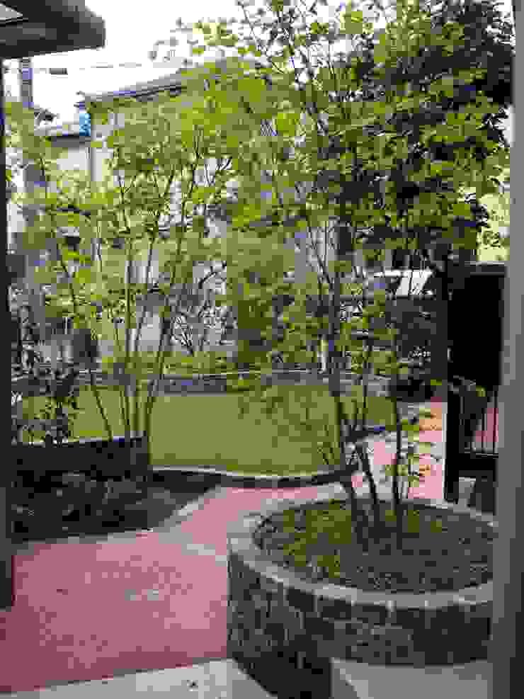 景色のための芝生 カントリーな 庭 の 空間工房 欅 カントリー