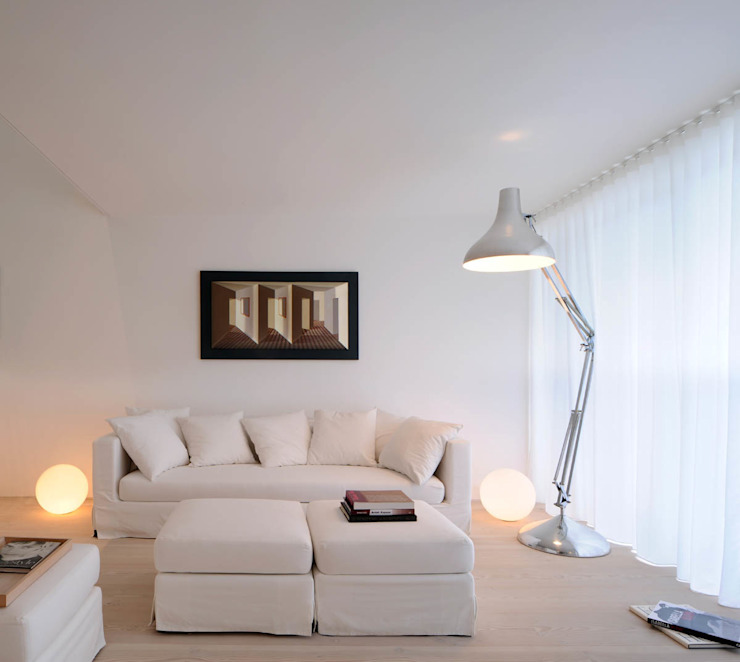 Living Room Livings de estilo moderno de TG Studio Moderno
