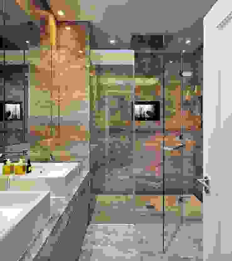 Ensuite Bathroom Modern bathroom by TG Studio Modern