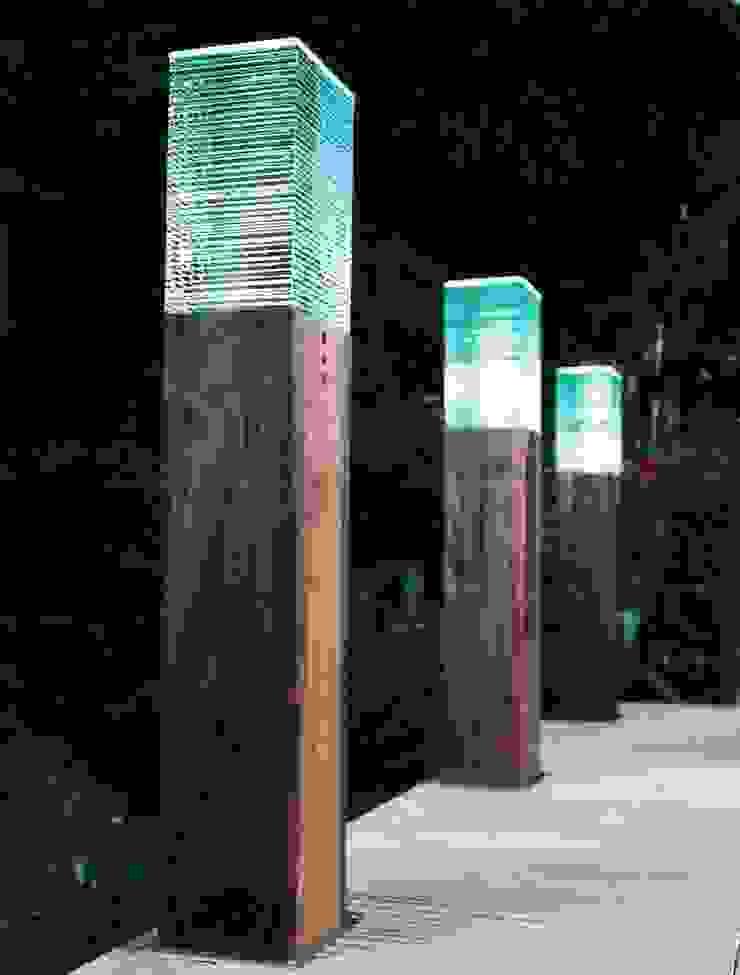 Iluminação de Jardins Jardins rústicos por Volani - Lighting Designs, Lda Rústico