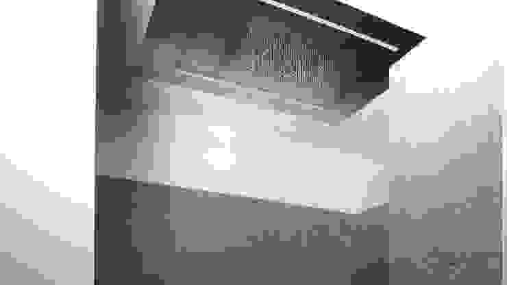 Groots douchen – Sneek Minimalistische badkamers van Studio Doccia Minimalistisch