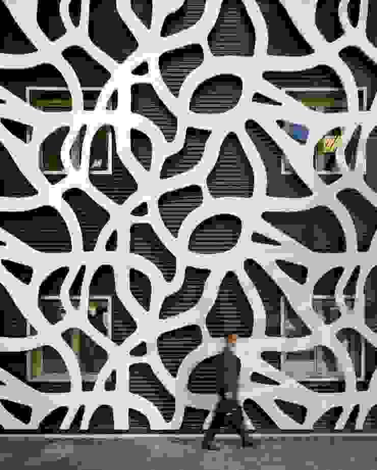 FACHADA LATERAL Casas de estilo moderno de DENORTE PROJECT MANAGEMENT Moderno