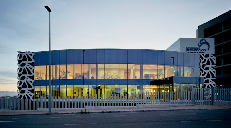 SPibermutuamur – Murcia Casas de estilo moderno de DENORTE PROJECT MANAGEMENT Moderno