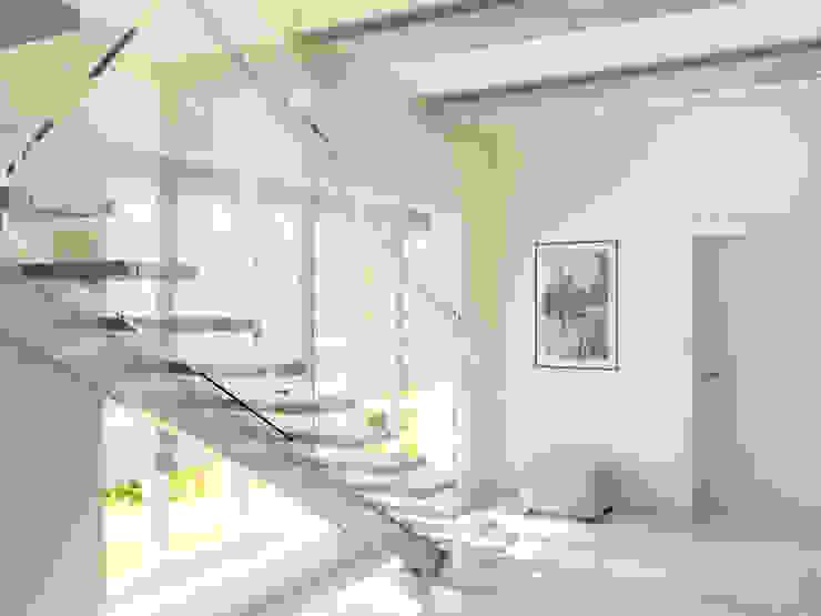 День Коридор, прихожая и лестница в эклектичном стиле от Дизайн студия Александра Скирды ВЕРСАЛЬПРОЕКТ Эклектичный