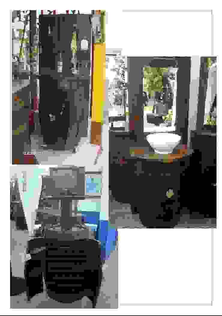 Mueble de baño de barrica. de info5038 Rústico